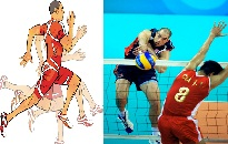 دانلود پاورپوینت تجزیه و تحلیل دوی سرعت و اسپک والیبال