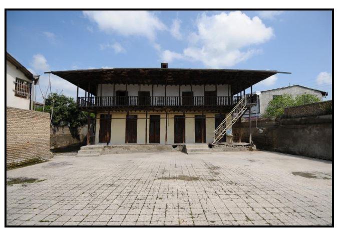 مطالعه و شناخت خانه میرکاظمی (جدی حسینی) کردکوی به همراه نقشه های کامل بنا